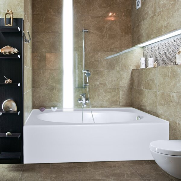 Builder Kona 60 x 42 Soaking Bathtub by Hydro Systems