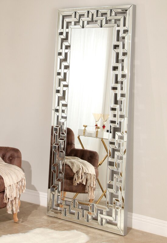 Awesome Floor Leaner Mirror Adornment - Home Floor Plans ...