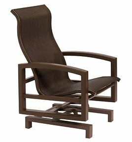 Lakeside Sling Action Patio Chair by Tropitone