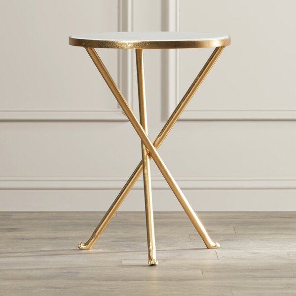 Boadle Marble End Table by Willa Arlo Interiors