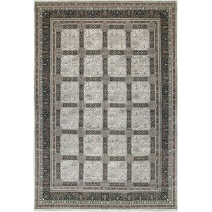 One-of-a-Kind Tabriz Hand-Knotted Wool Gray Indoor Area Rug By Bokara Rug Co., Inc.