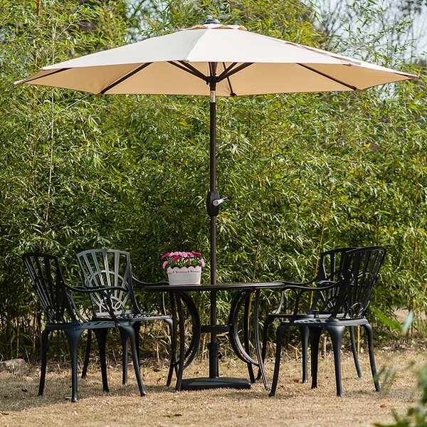 Rhinecliff 9' Market Umbrella by Charlton Home