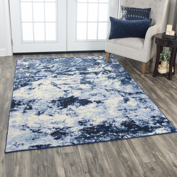 Everything Old Is New Again Blue/Beige Area Rug by Donny Osmond Home