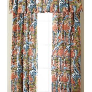 Jerin Drapery Rod Pocket Single Curtain Panel
