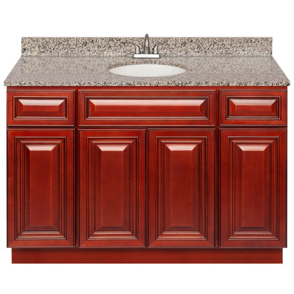 Kirtin 48 Single Bathroom Vanity Set by Charlton Home