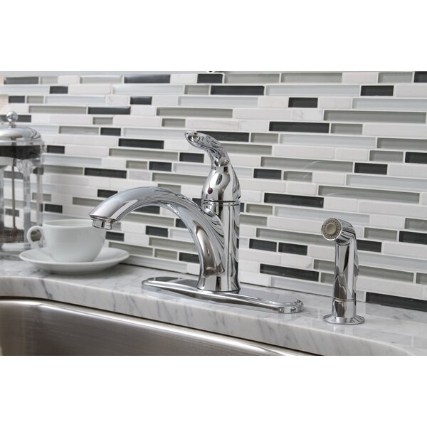 Waterfront Single Handle Kitchen Faucet with Optional Side Spray by Premier Faucet