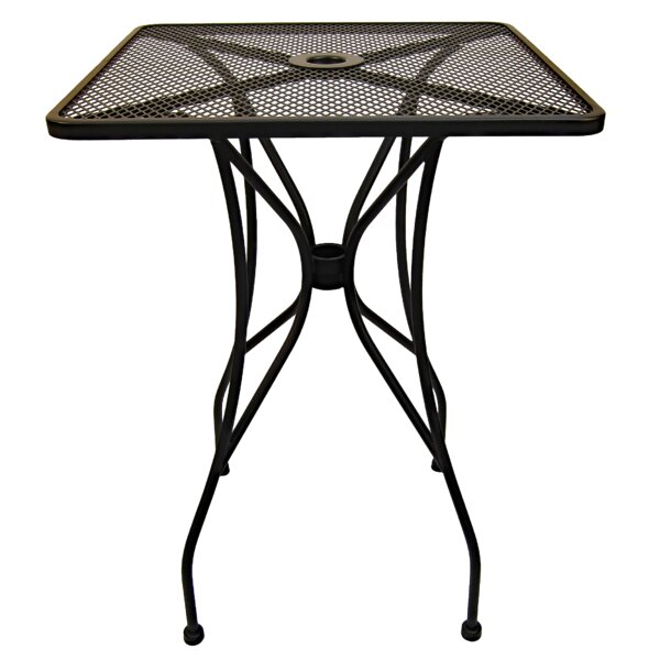 Square Wrought Iron Bar Table by H&D Restaurant Supply Inc.