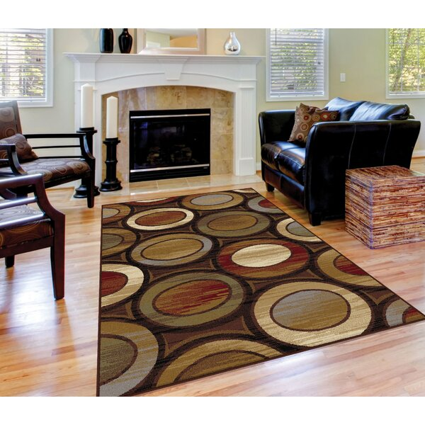 William Brown/Ivory Area Rug by Threadbind