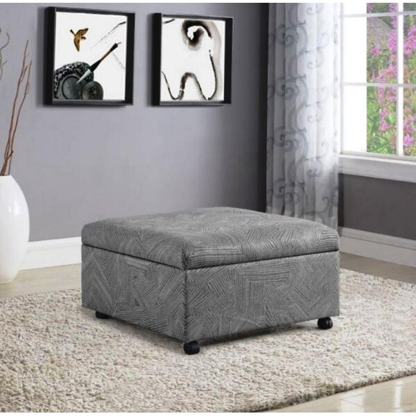 Nana Lift Top Storage Ottoman by Latitude Run