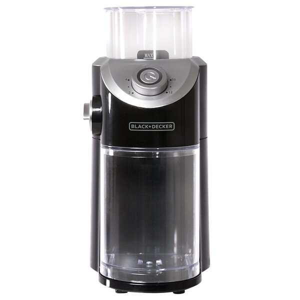 Electric Burr Coffee Grinder by Black + Decker