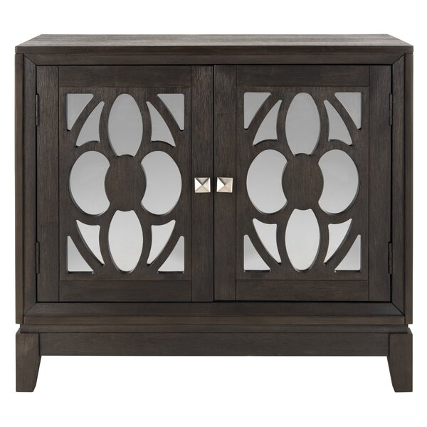Benda 2 Door Mirrored Accent Cabinet by House of Hampton House of Hampton