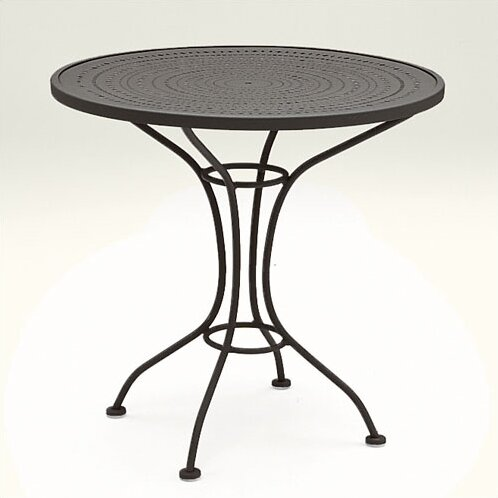 Parisienne 30 Round Wrought Iron Dining Table by Woodard