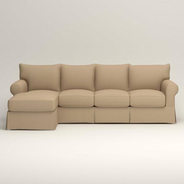 Admirable 2 Jameson Slipcovered Sleeper Sectional By Birch Lane Inzonedesignstudio Interior Chair Design Inzonedesignstudiocom