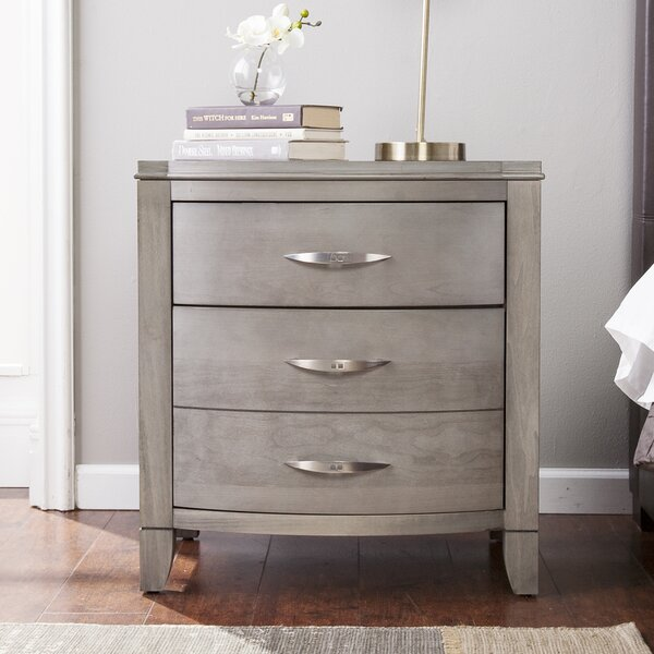 Cuddy 2 Drawer Nightstand by Red Barrel Studio