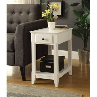 Krohn End Table with Storage