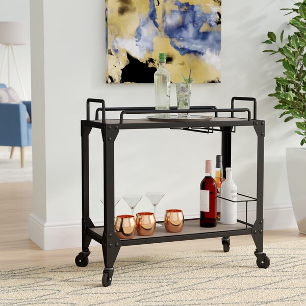 Nault Bar Cart by Ebern Designs Ebern Designs