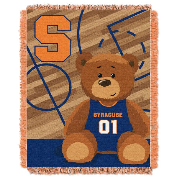 Collegiate Syracuse Baby Throw by Northwest Co.
