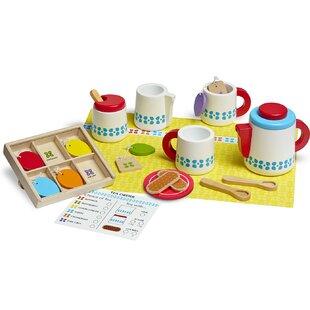 Price comparison 22 Piece Wooden Steep and Serve Tea Set ByMelissa & Doug