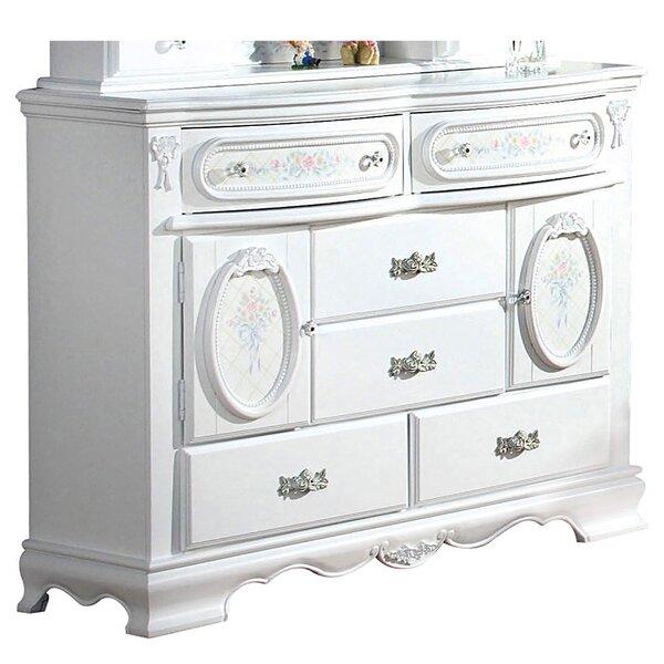 Boyd Wooden 6 Drawer Standard Dresser by House of Hampton