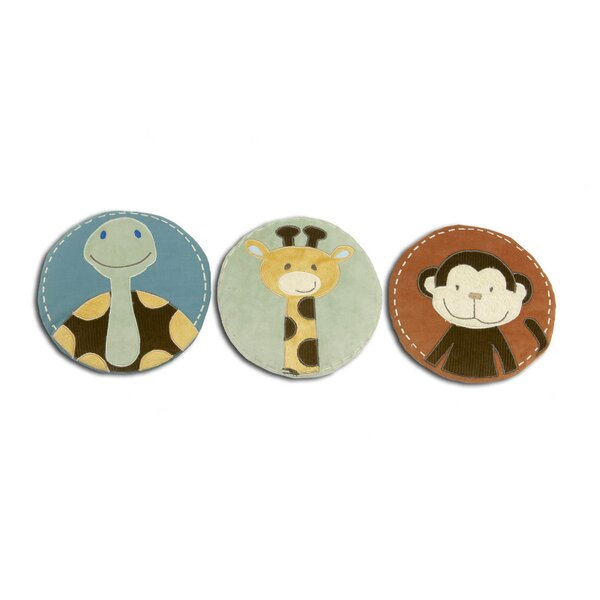 Jungle Tales Three Piece Wall Hanging by NoJo