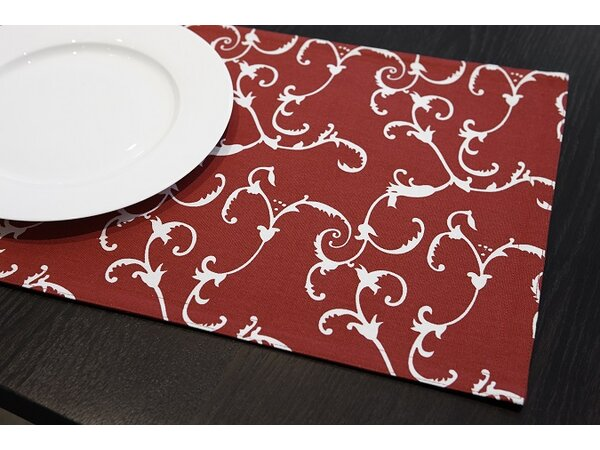 Riggins Damask Reversible Placemat (Set of 4) by Darby Home Co