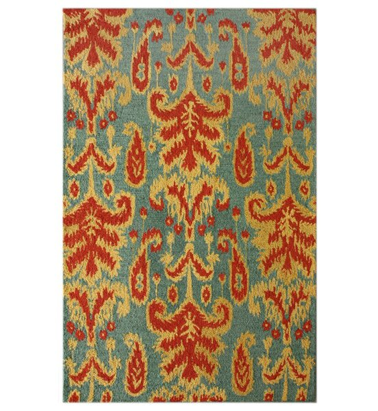 Marbella Hand-Tufted Teal Area Rug by nuLOOM
