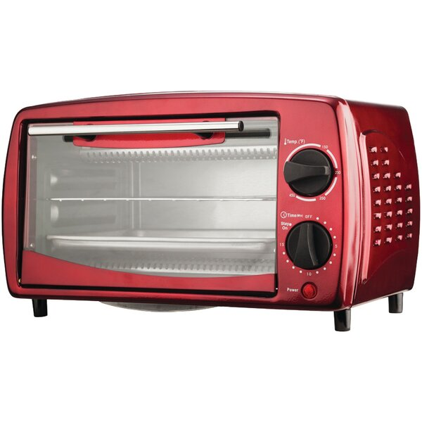 0.32-Cubic Foot 4-Slice Toaster Oven by Brentwood Appliances