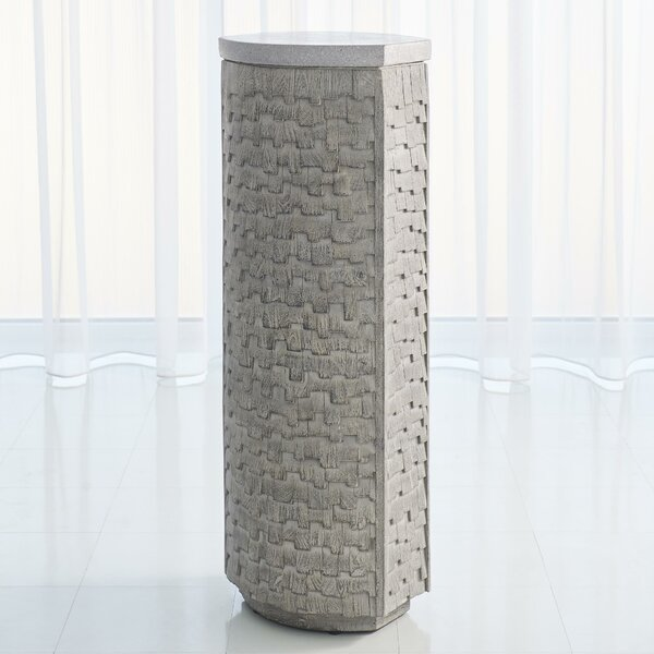 Shingles Pedestal Plant Stand by Global Views