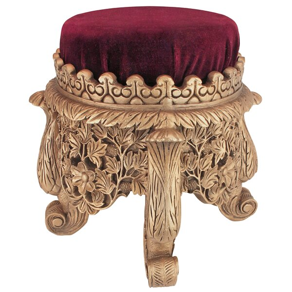 Sultan Suleiman The Magnificent Royal Accent Stool by Design Toscano