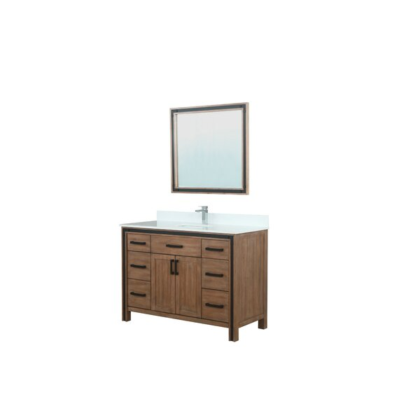 Aweis 49 Single Bathroom Vanity Set with Mirror