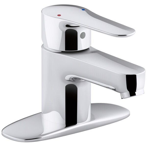 July Single-Handle Bathroom Sink Faucet with Escutcheon by Kohler