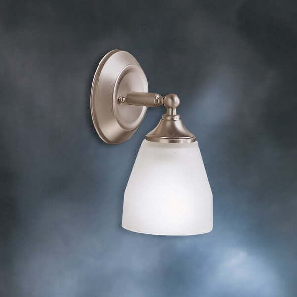Wheatfield 1-Light Armed Sconce by Andover Mills