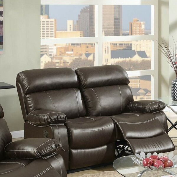 Roush Reclining Loveseat by Charlton Home