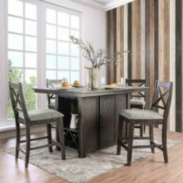Islas 5 Piece Pub Table Set by Gracie Oaks