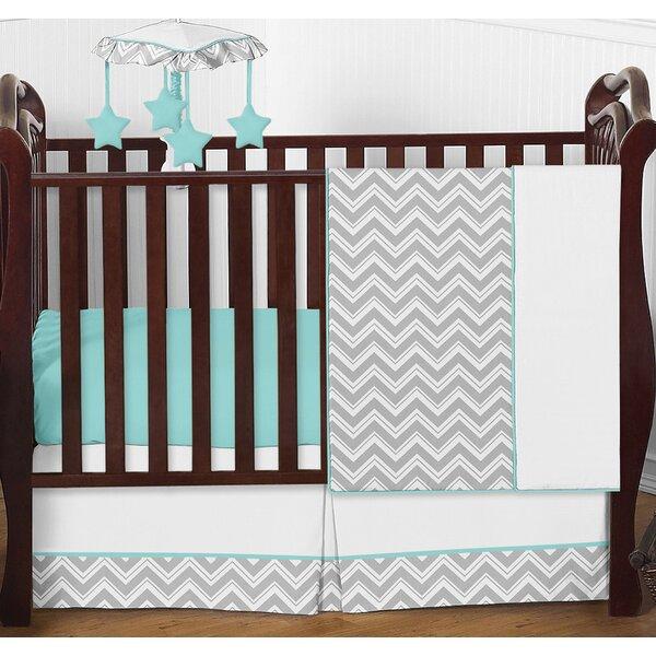 Zig Zag 4 Piece Crib Bedding Set by Sweet Jojo Designs