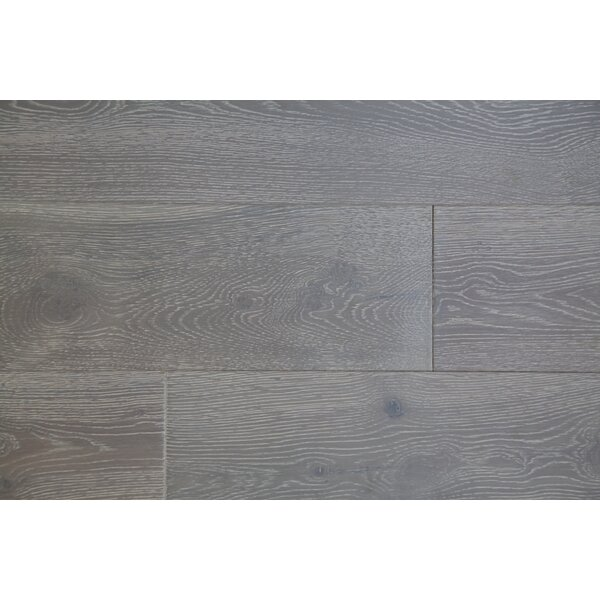 Vita Bella Plus 7 Engineered Oak Hardwood Flooring in Light Gray/Off-white by Alston Inc.