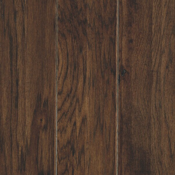 Hinsdale 5 Engineered Hickory Hardwood Flooring in Mocha by Mohawk Flooring