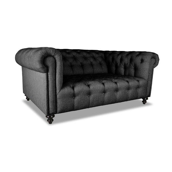 Estill Plush Deep Chesterfield Sofa by Darby Home Co