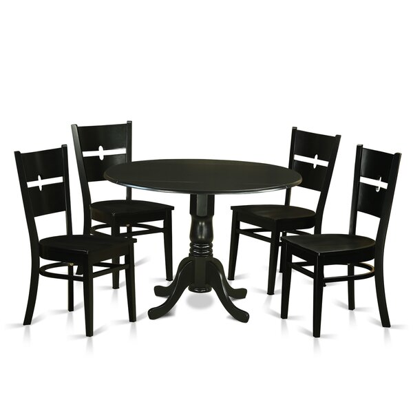 #2 Dublin 5 Piece Dining Set By Wooden Importers Top Reviews