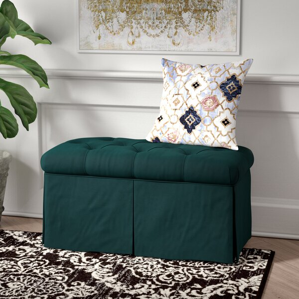 Brunella Upholstered Storage Bench by Willa Arlo Interiors