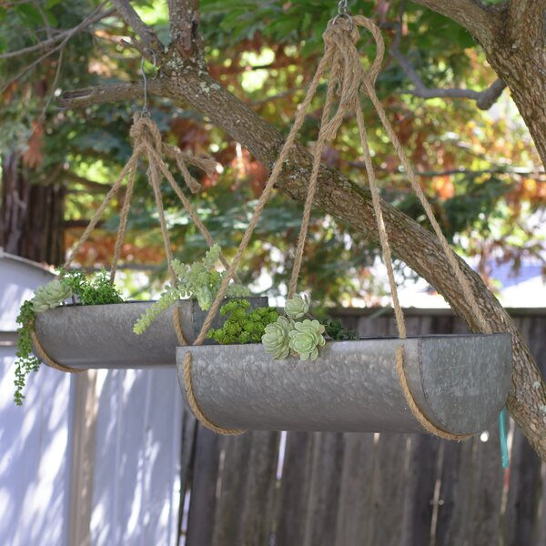 Gries 2-Piece Hanging Planter Set by August Grove