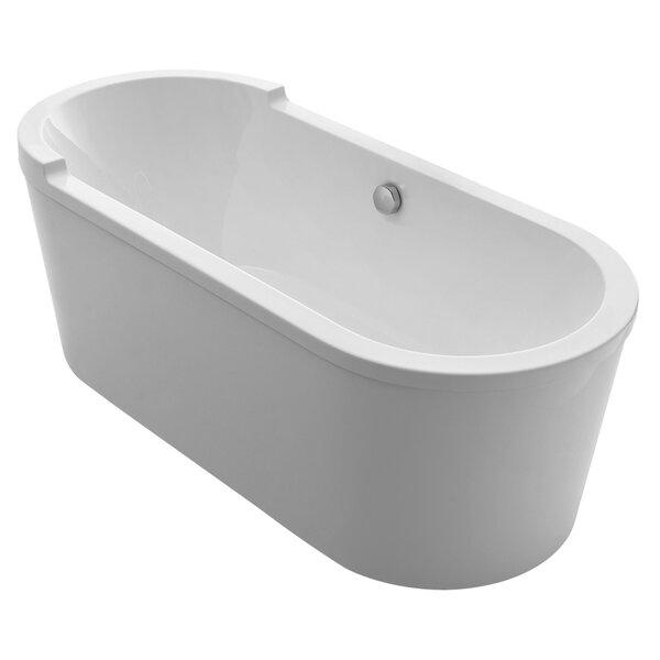 Bathhaus 70.88 x 31.5 Freestanding Bathtub by Whitehaus Collection