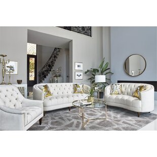 Swatzell 3 Piece Living Room Set by Rosdorf Park