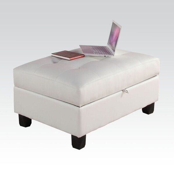 Maven Tufted Storage Ottoman by Alcott Hill