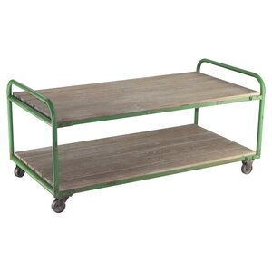 Sacramento Coffee Table in Green VIP INTERNATIONAL