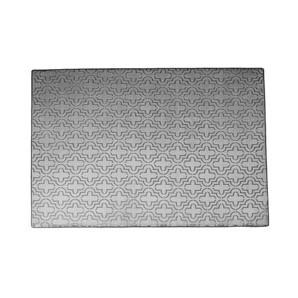 Memory Foam Gray Area Rug by Chesapeake Merchandising Inc.