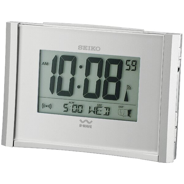 R-Wave Atomic Bedside Alarm Clock by Seiko