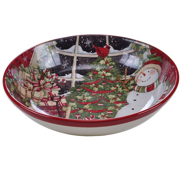 Serving Bowl by The Holiday Aisle