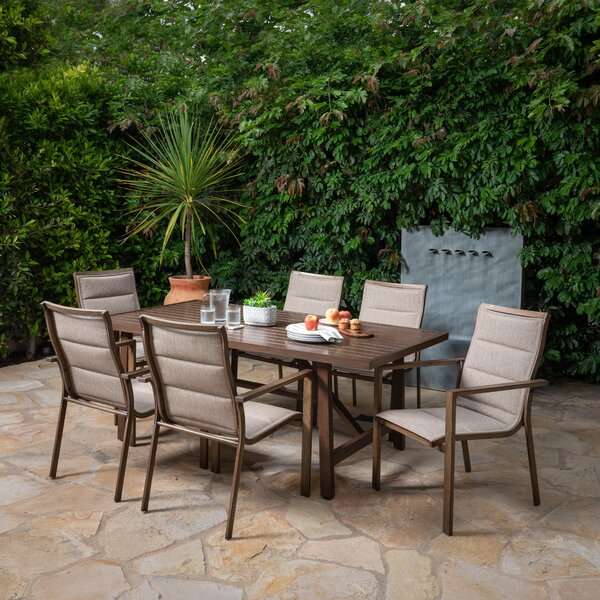 Vice 7 Piece Dining Set by Brayden Studio