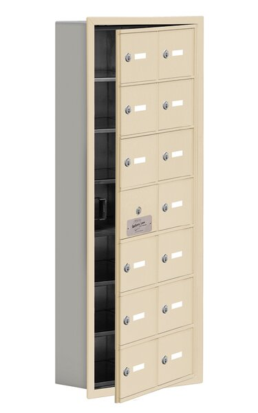 6 Tier 2 Wide EmpLoyee Locker by Salsbury Industries